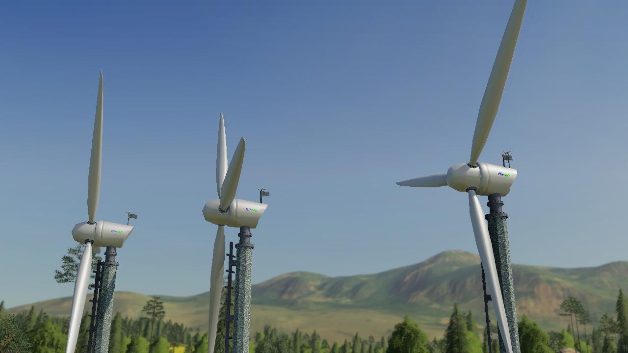 10KW Windkraftanlage