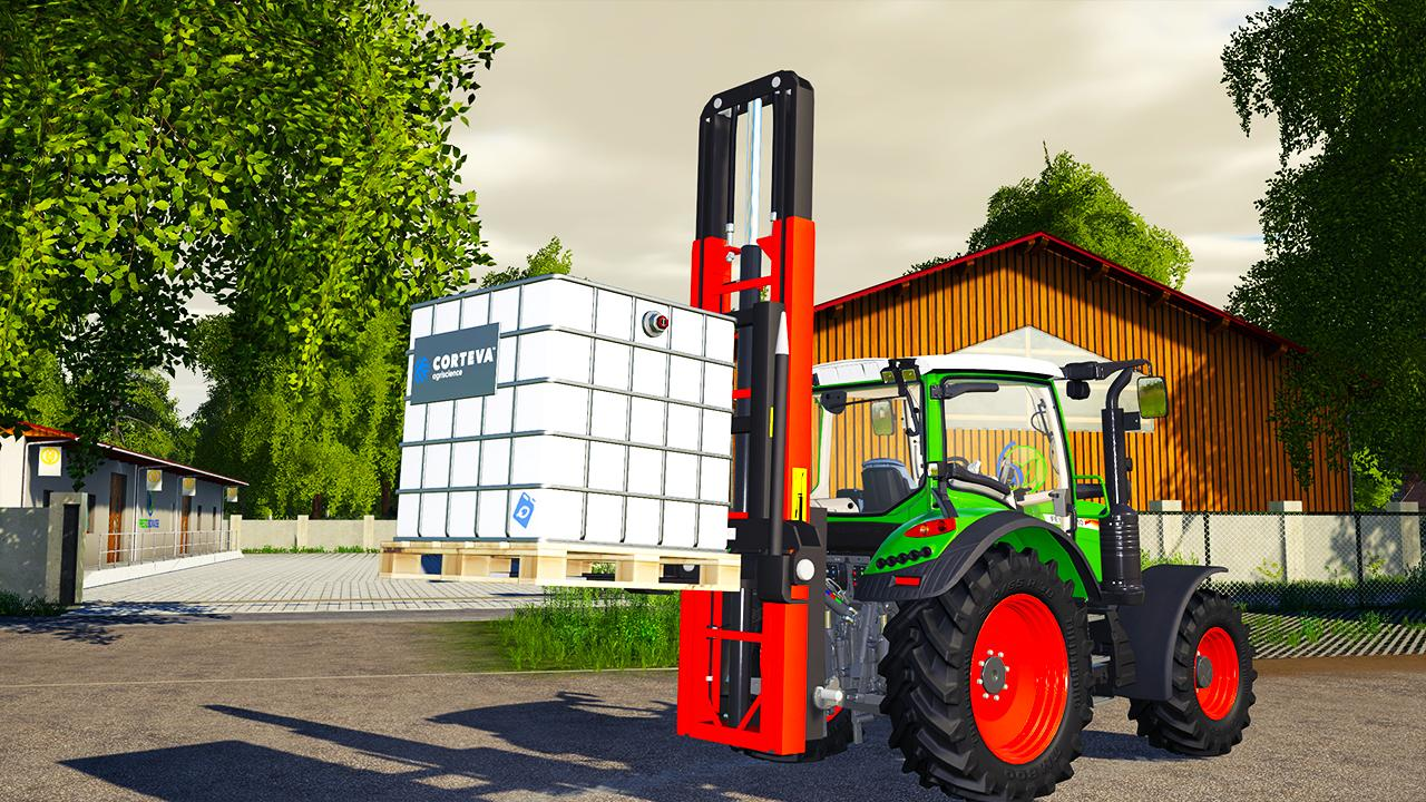 3 Points Forklift FS19