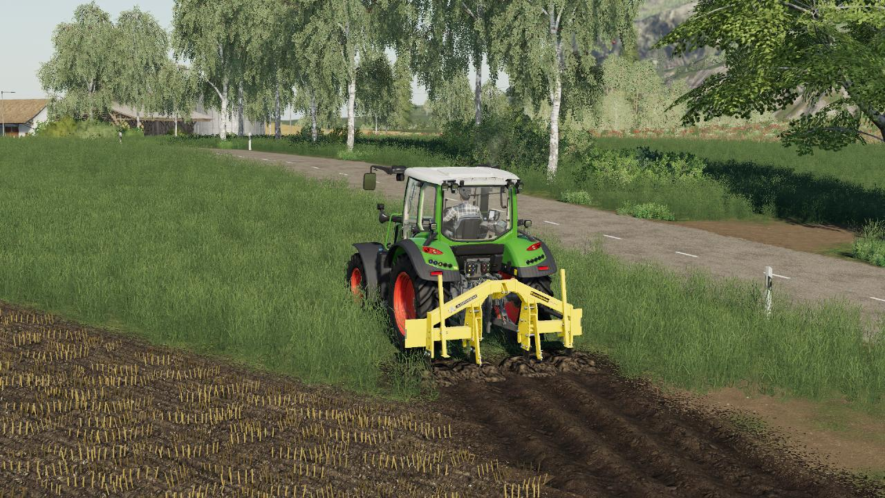 Agrisem Combiplow Field Creation