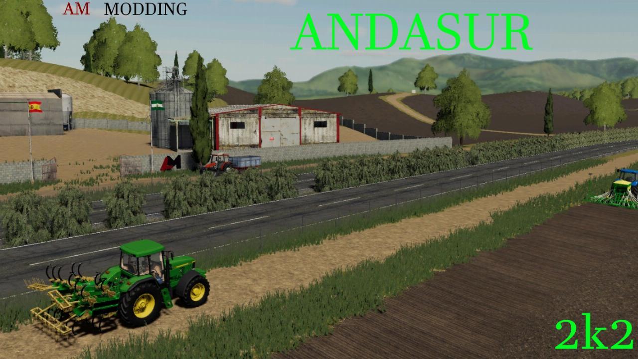 AndaSur Map V1.0