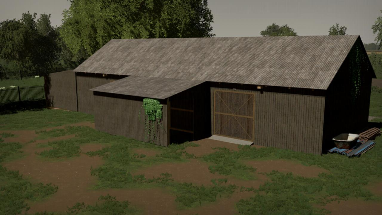 Barn With A Workshop