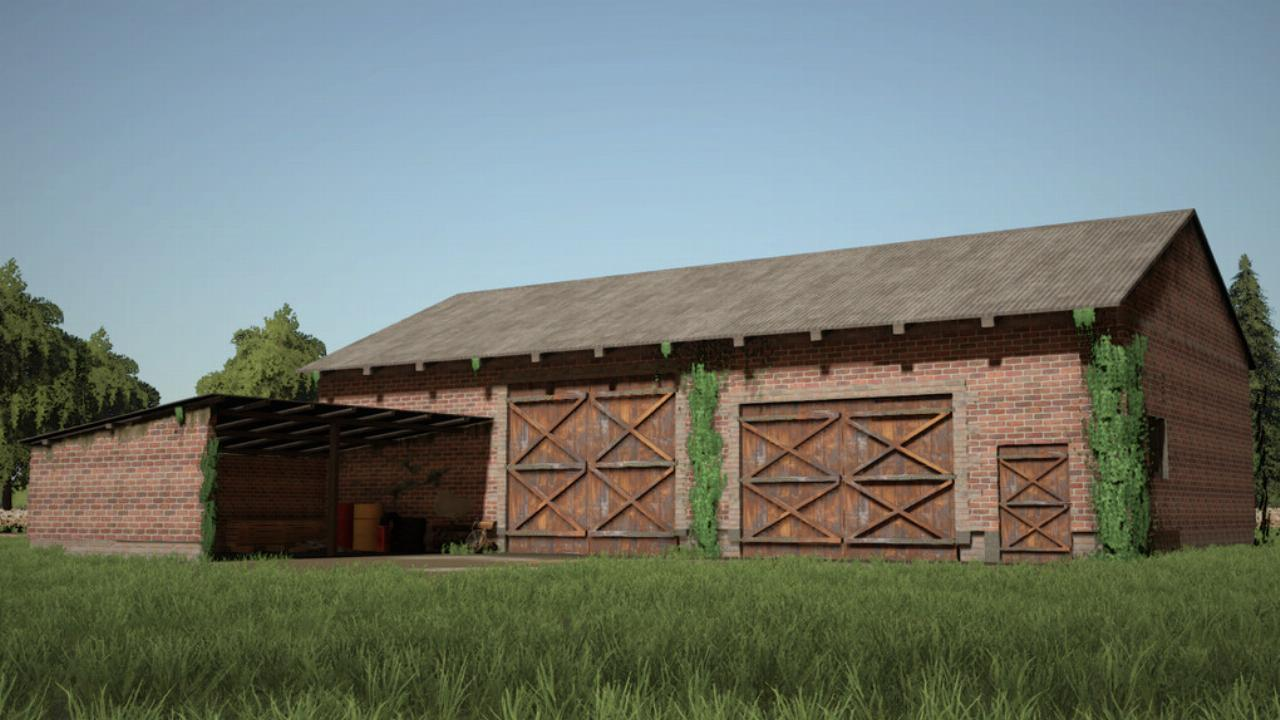 Barn With Workshop
