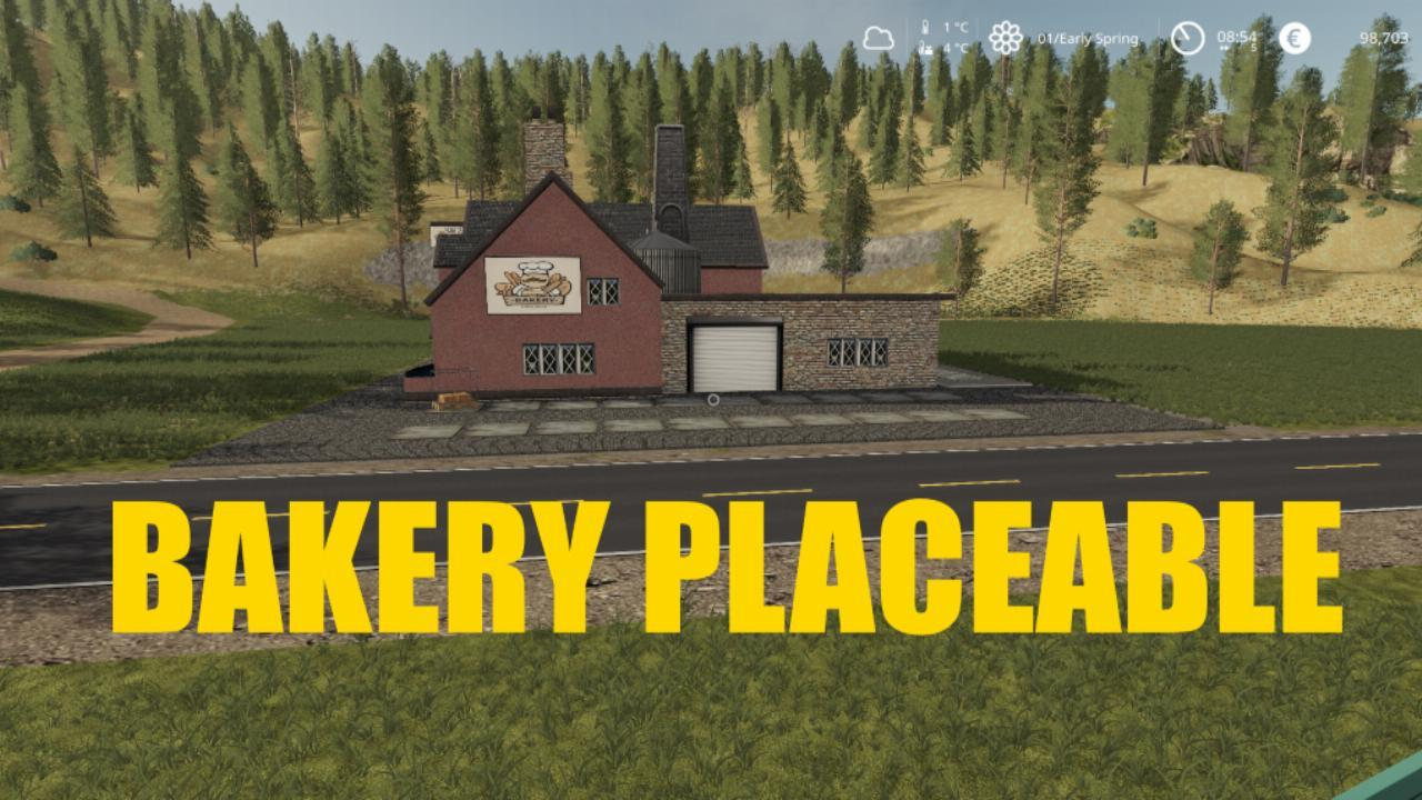Placeable Bakery