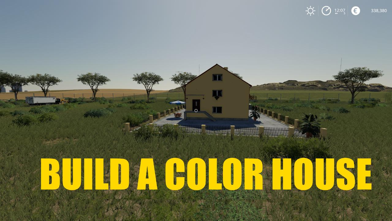 BUILD A COLOR HOUSE