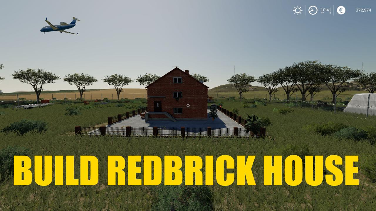 BUILD A REDBRICK HOUSE
