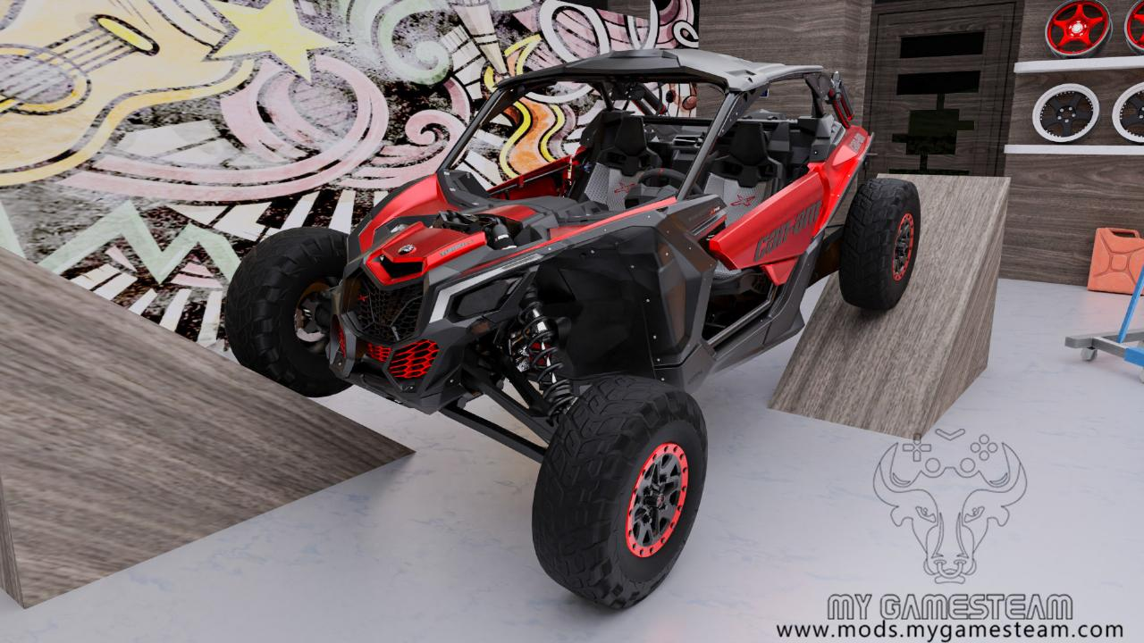 Can-Am Maverick X RS Turbo R 2018
