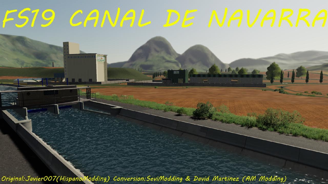 FS19 – Kanal von Navarra Map v1.0.0.0