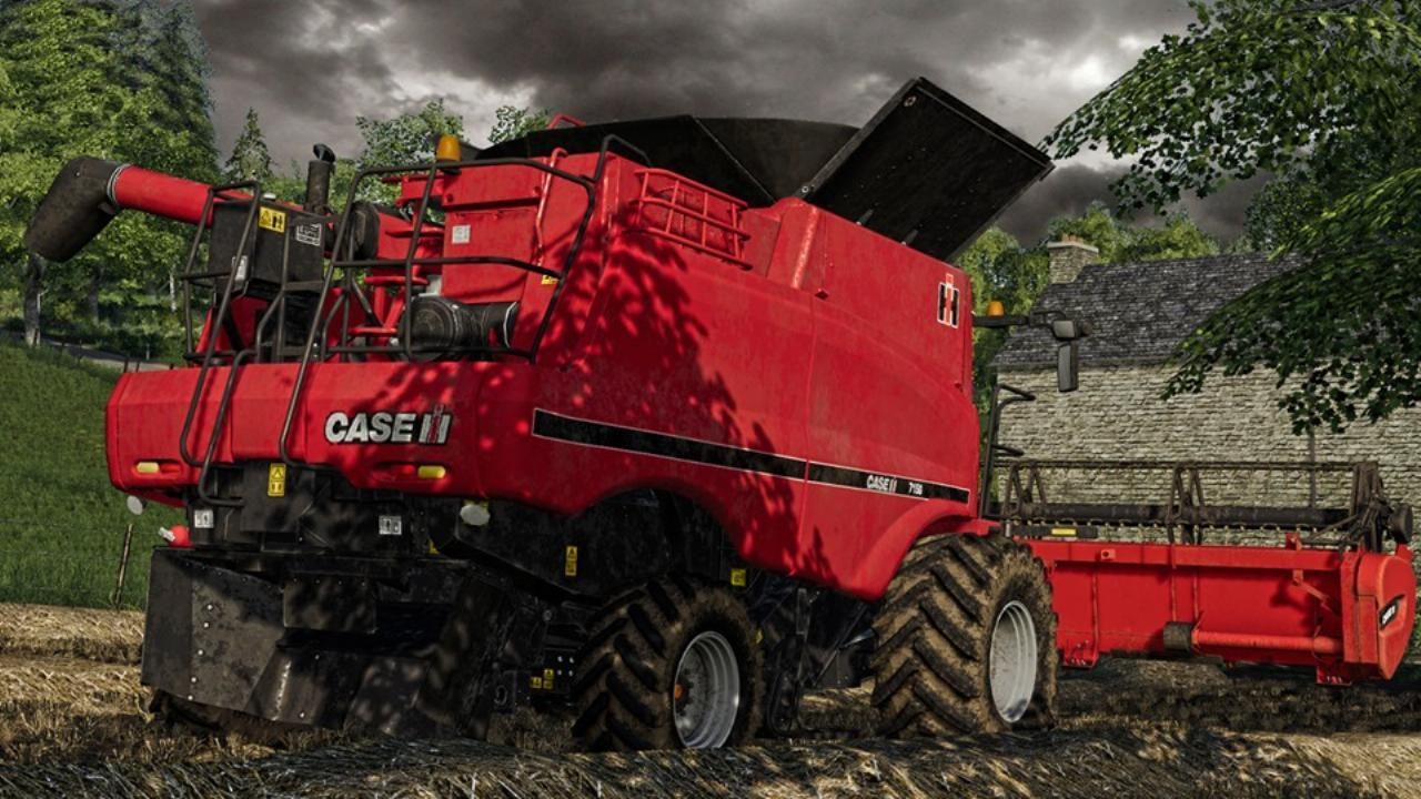 Case IH 7150 40 Years Edition