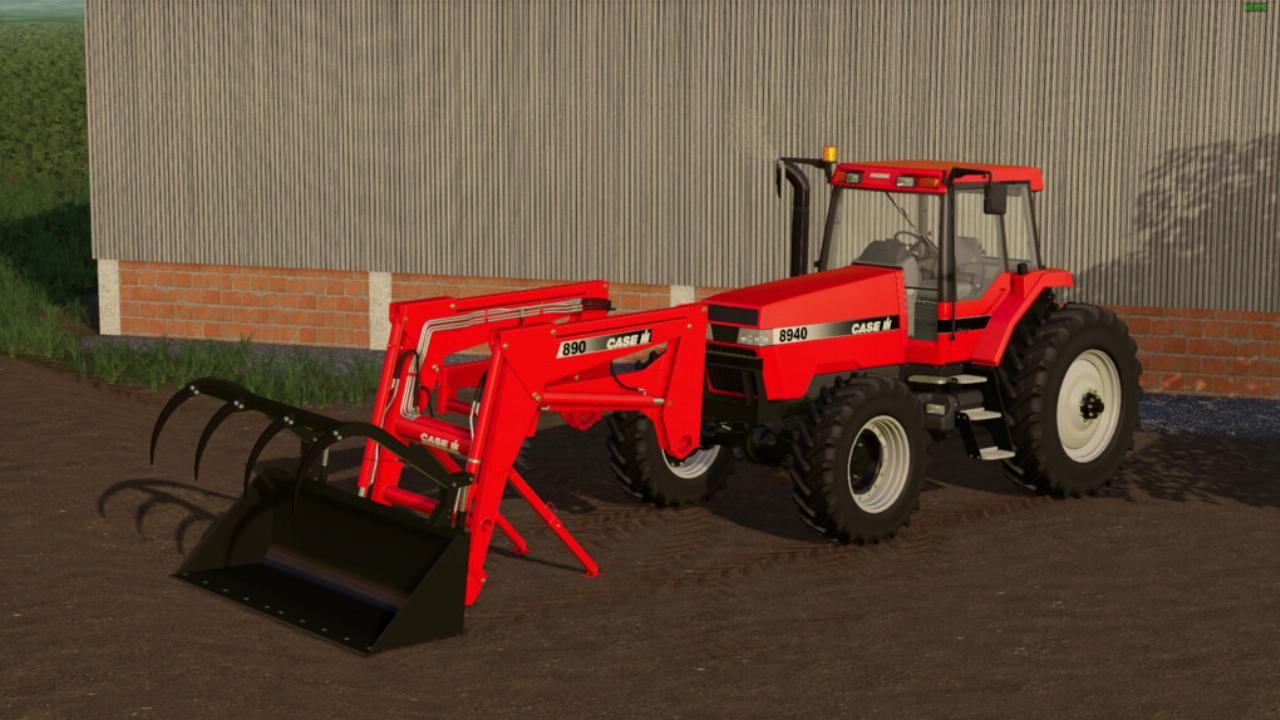 Chargeur Case IH 890