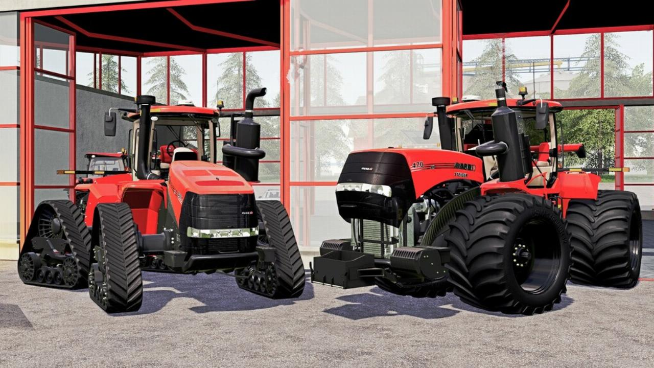 Case IH AFS Connect Steiger Series
