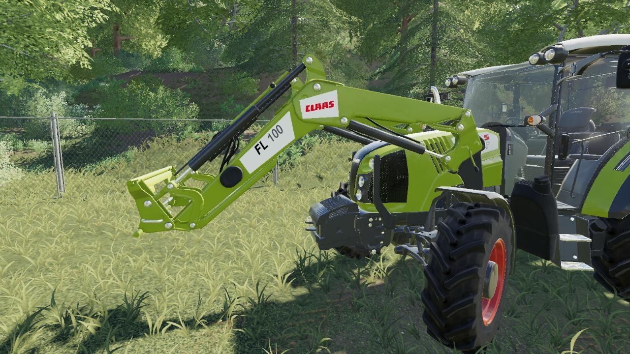 Chargeur claas Fl 100