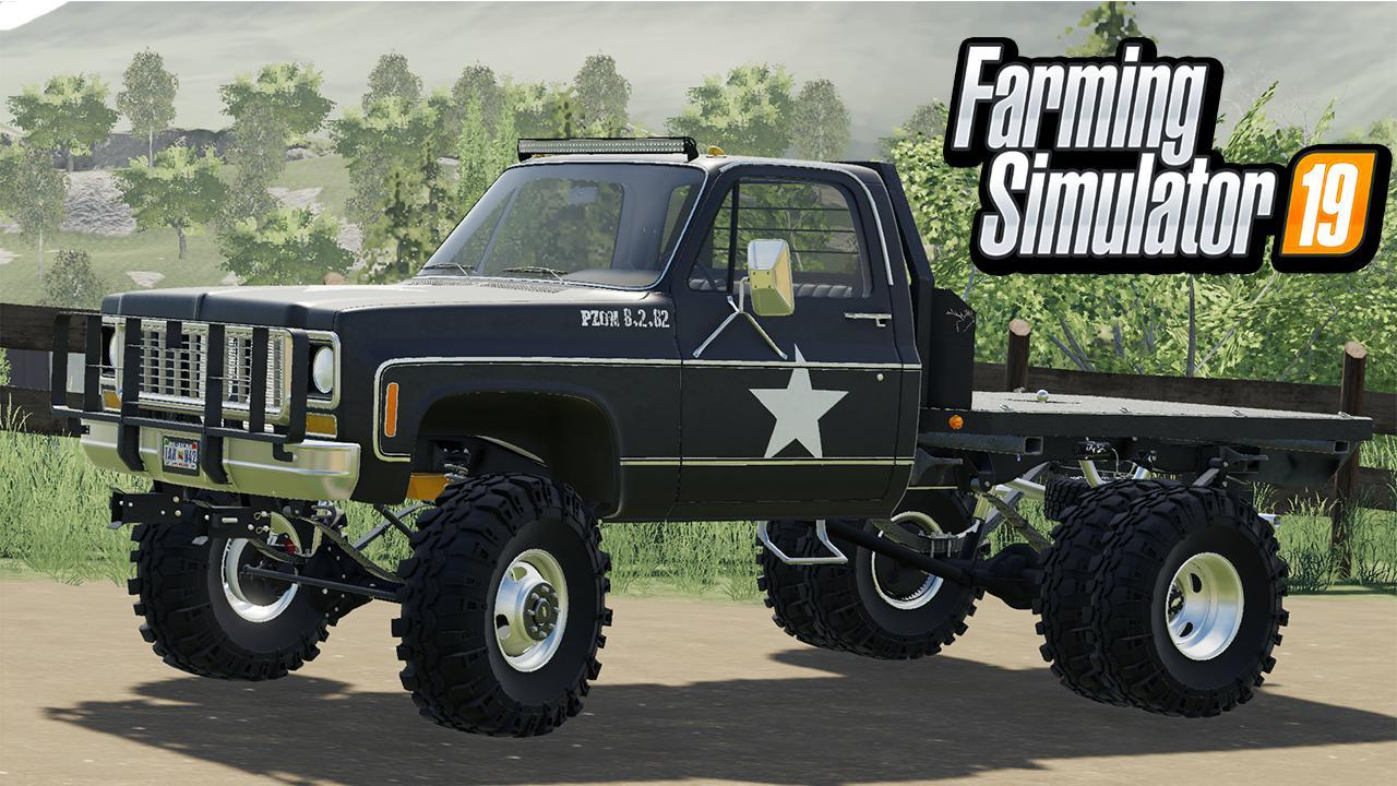 CHEVY K30 1979 DS FS19