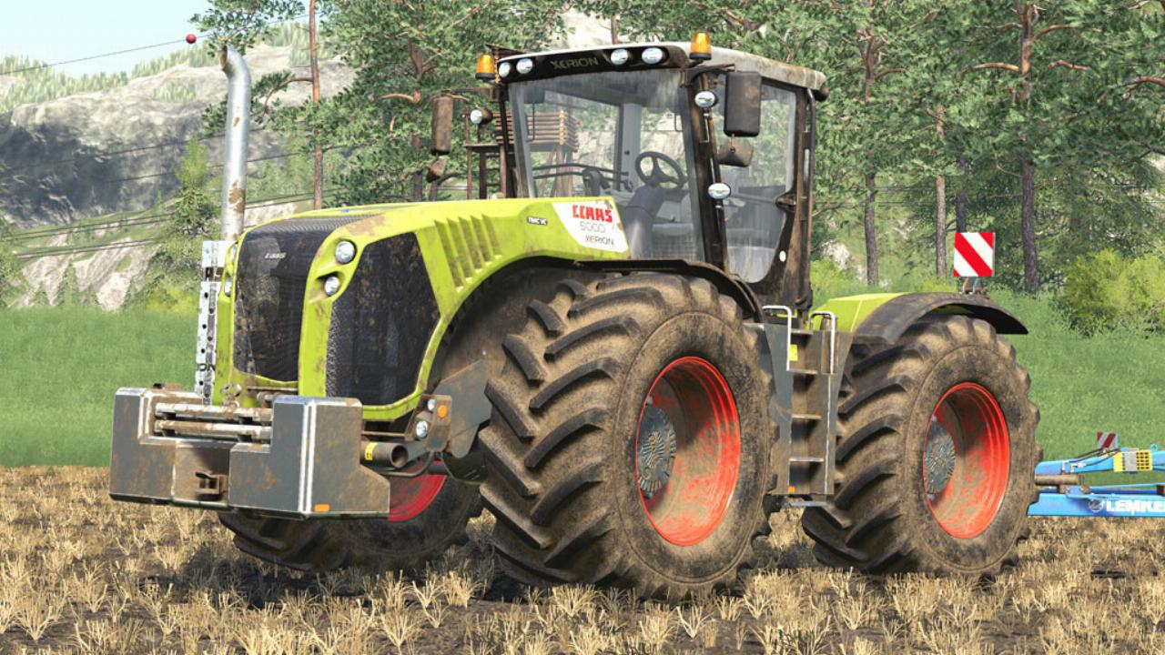 CLAAS Xerion 4000/5000 Series