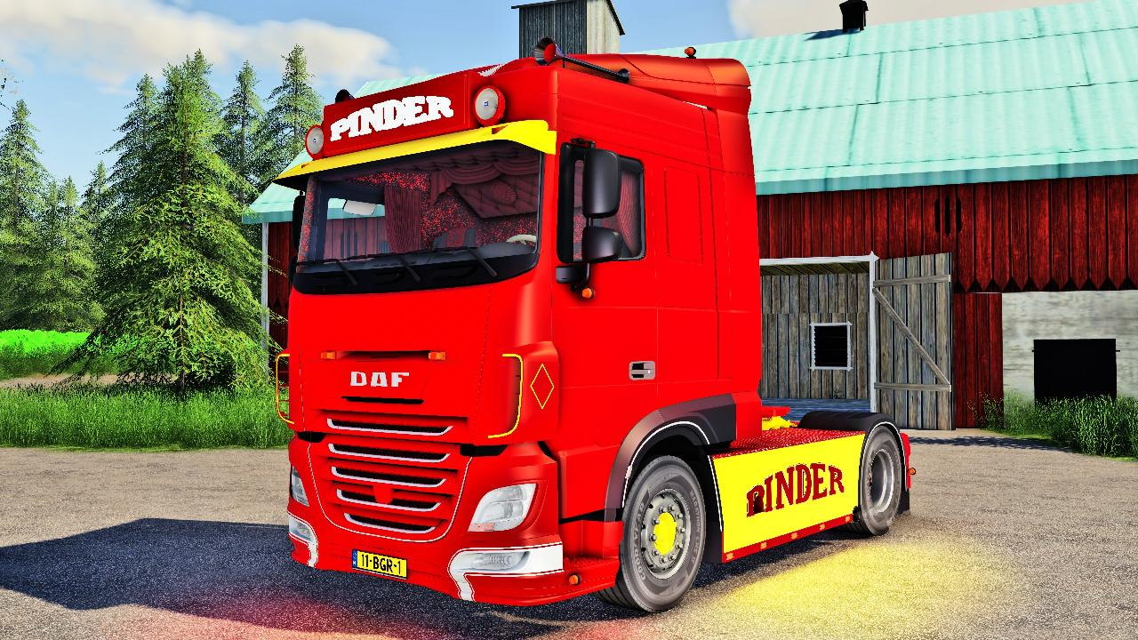 DAF 640 PINDER