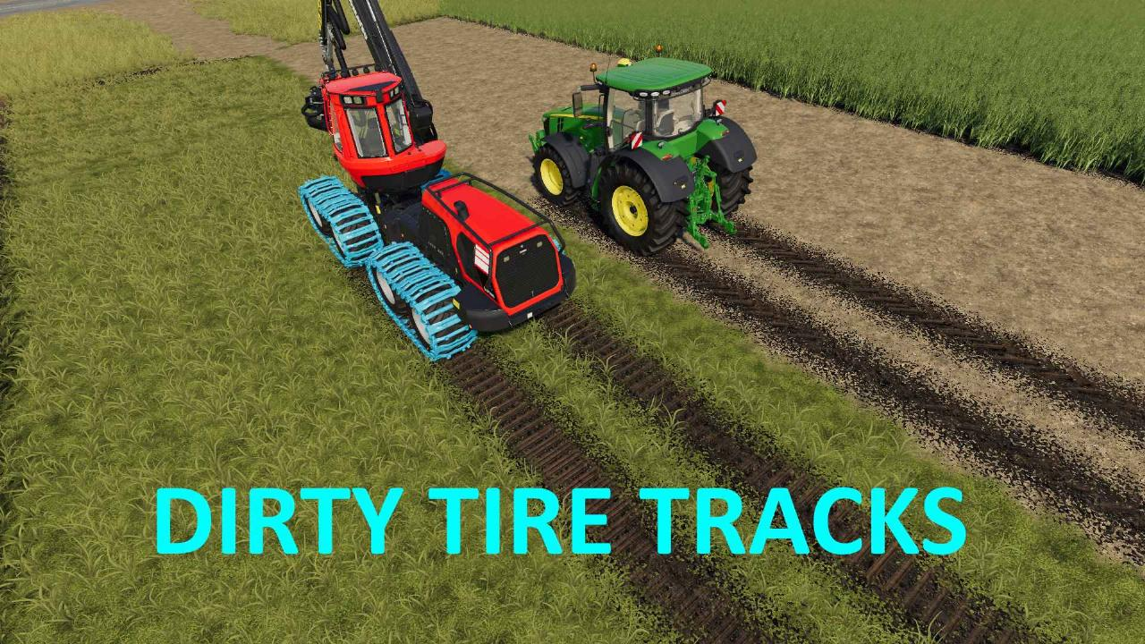 Dirty Tire Tracks