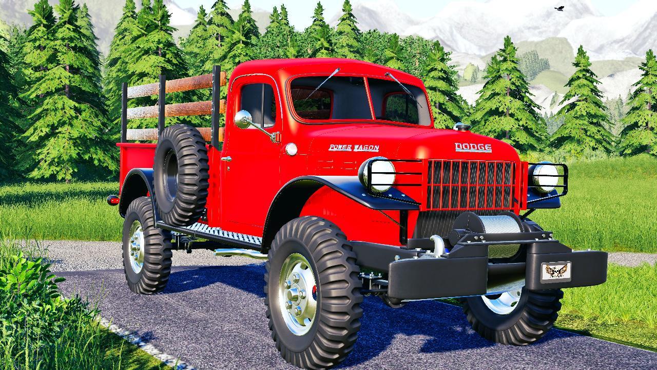 Dodge Power Wagon 1946 Fs19 Kingmods