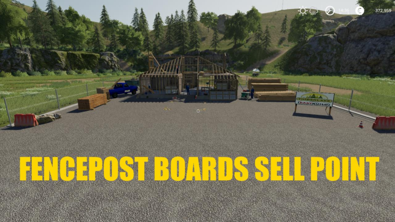 FENCEPOST BOARDS Sell Point