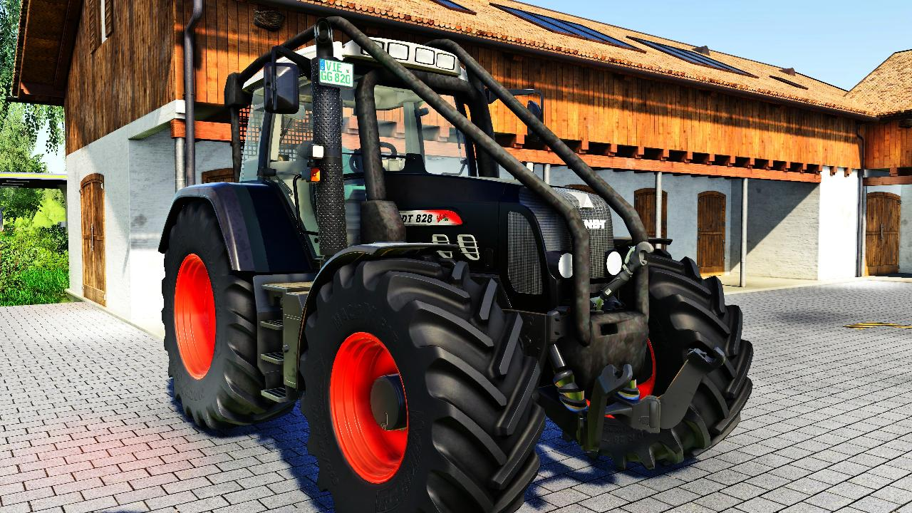 Fendt 800 TMS Forest