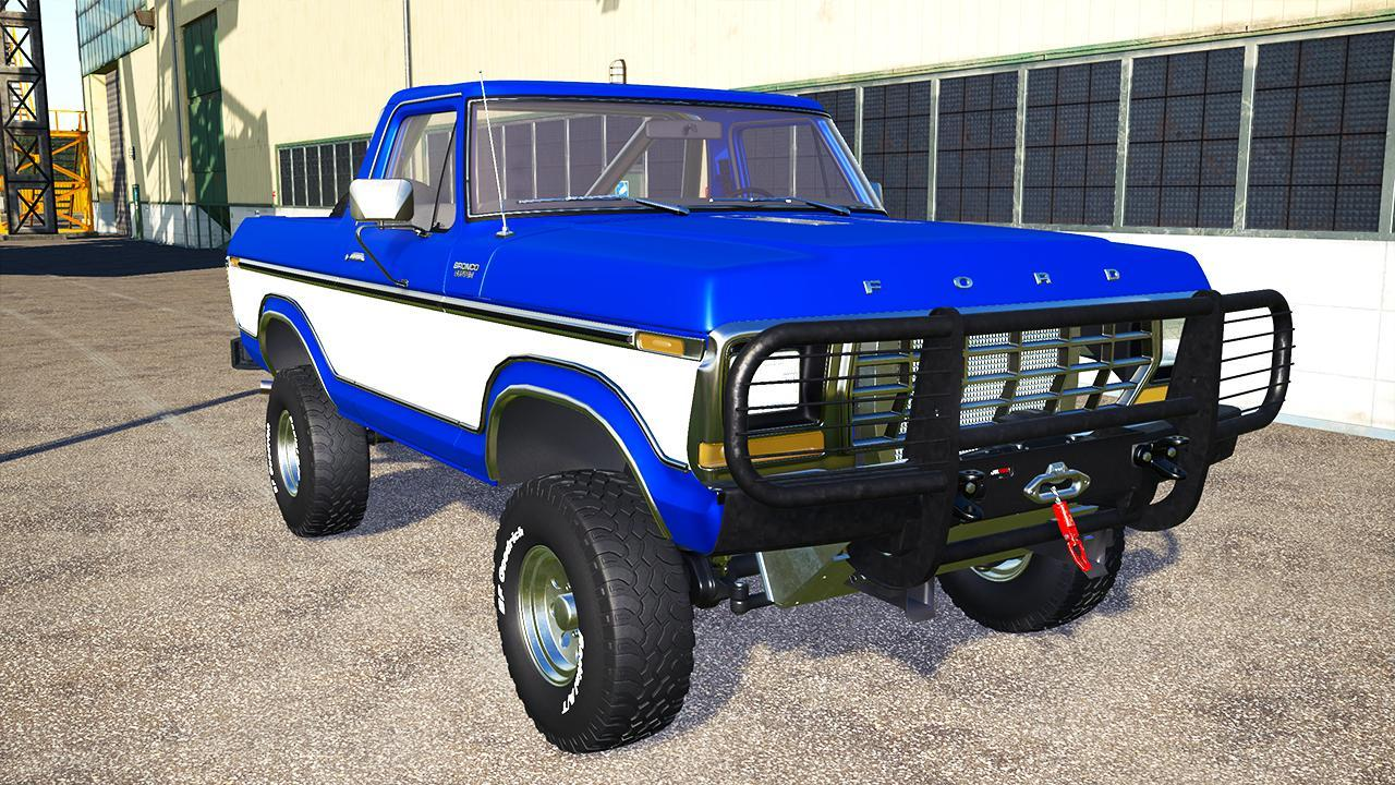 Ford Bronco Custom 1978