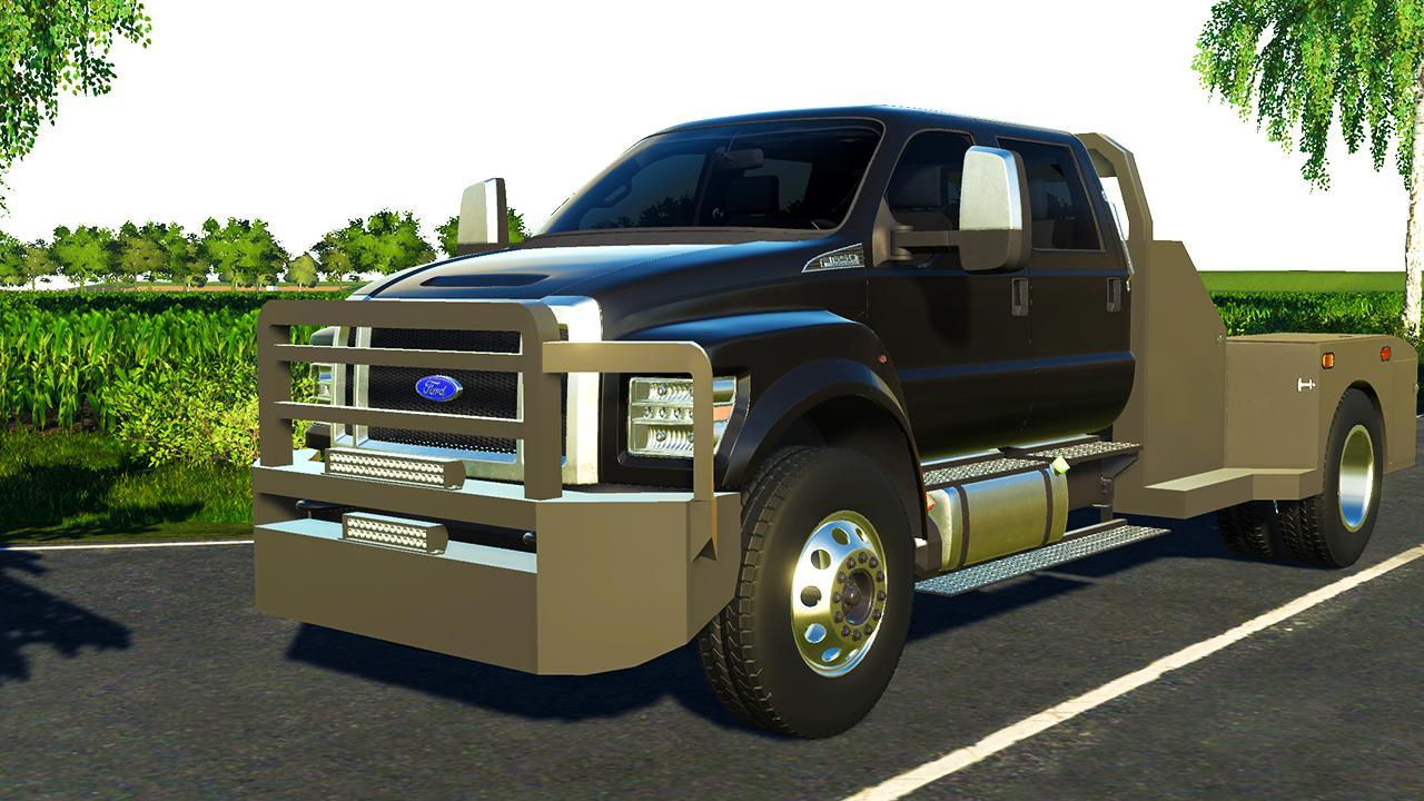 Ford F650 2019