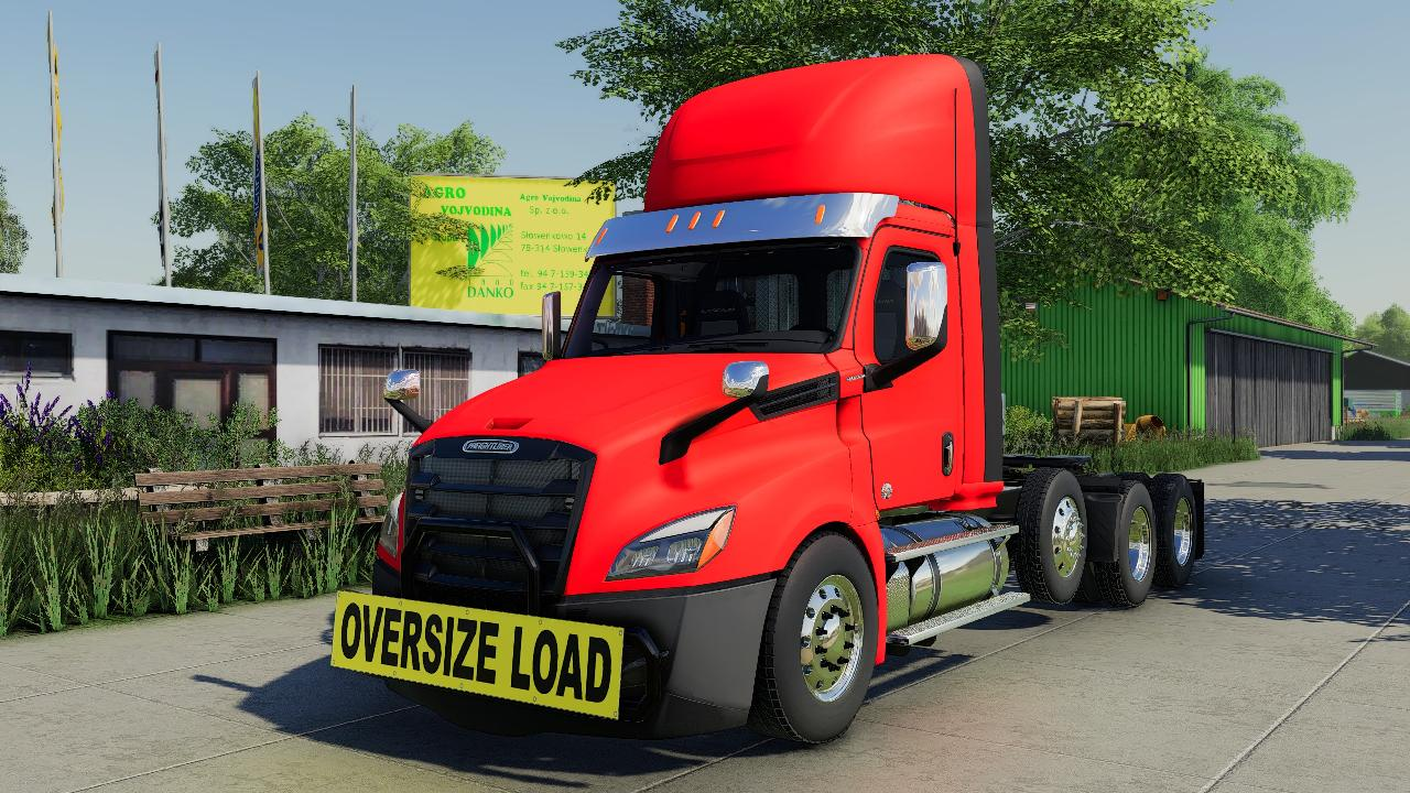 FREIGHTLINER CASCADIA P4 DAY CAB