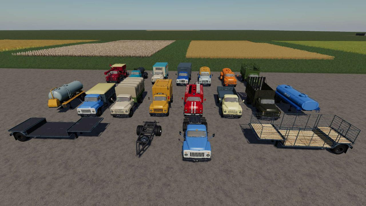 Pack de modules GAZ-53 v.2.5.1