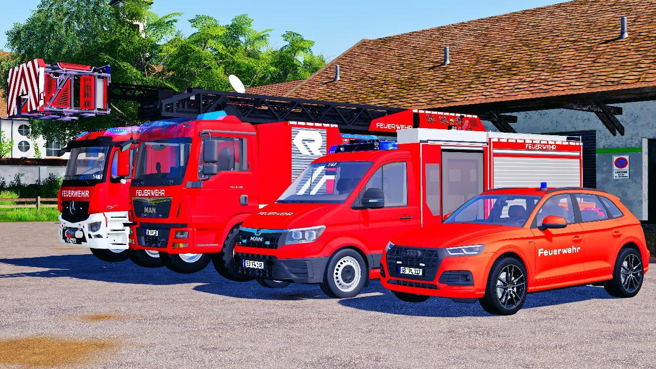 FS19 – Deutsches Feuerwehrpaket