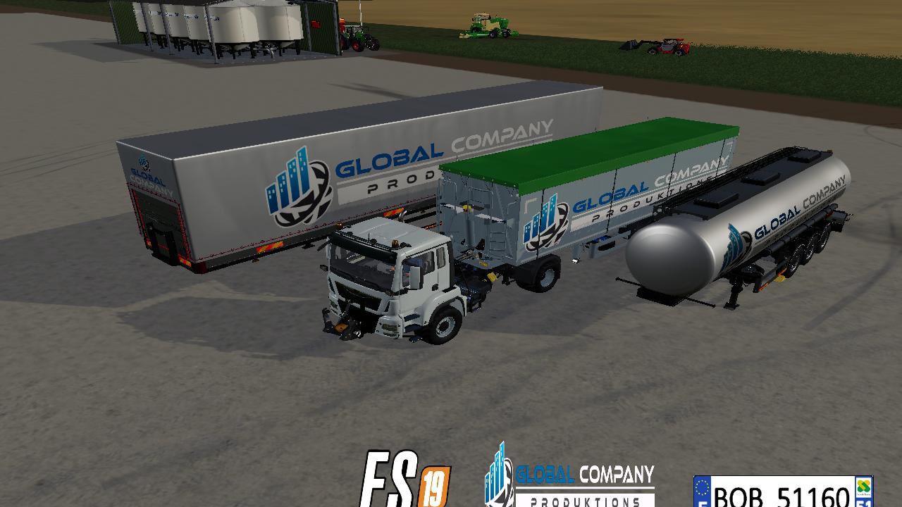 Global Company trailer pack
