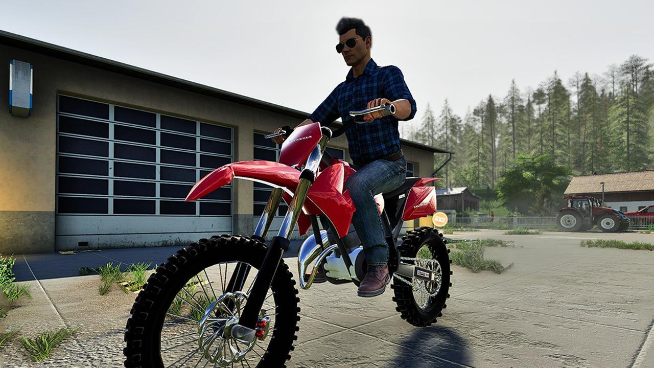 FS19 Honda Dirtbike