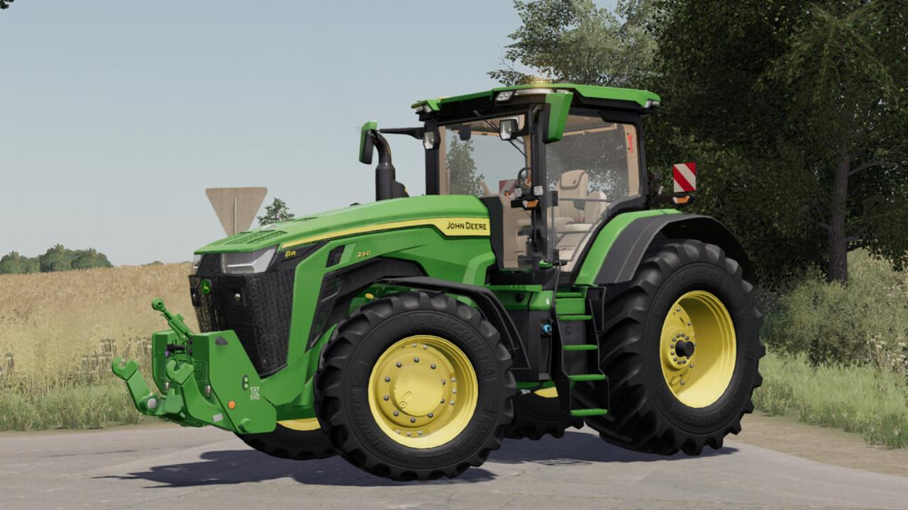 John Deere 7R,8R,8RT,8RX 2020 EU-Version