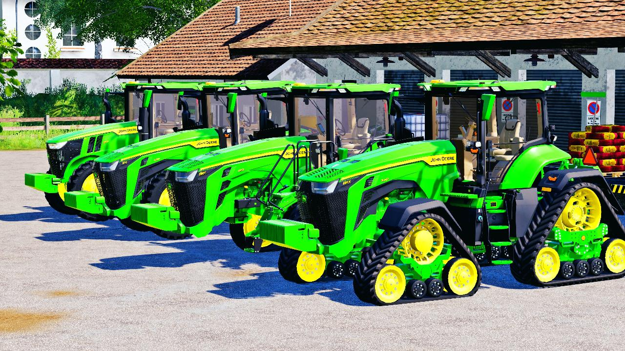 John Deere 7R,8R,8RT,8RX 2020 US-Version