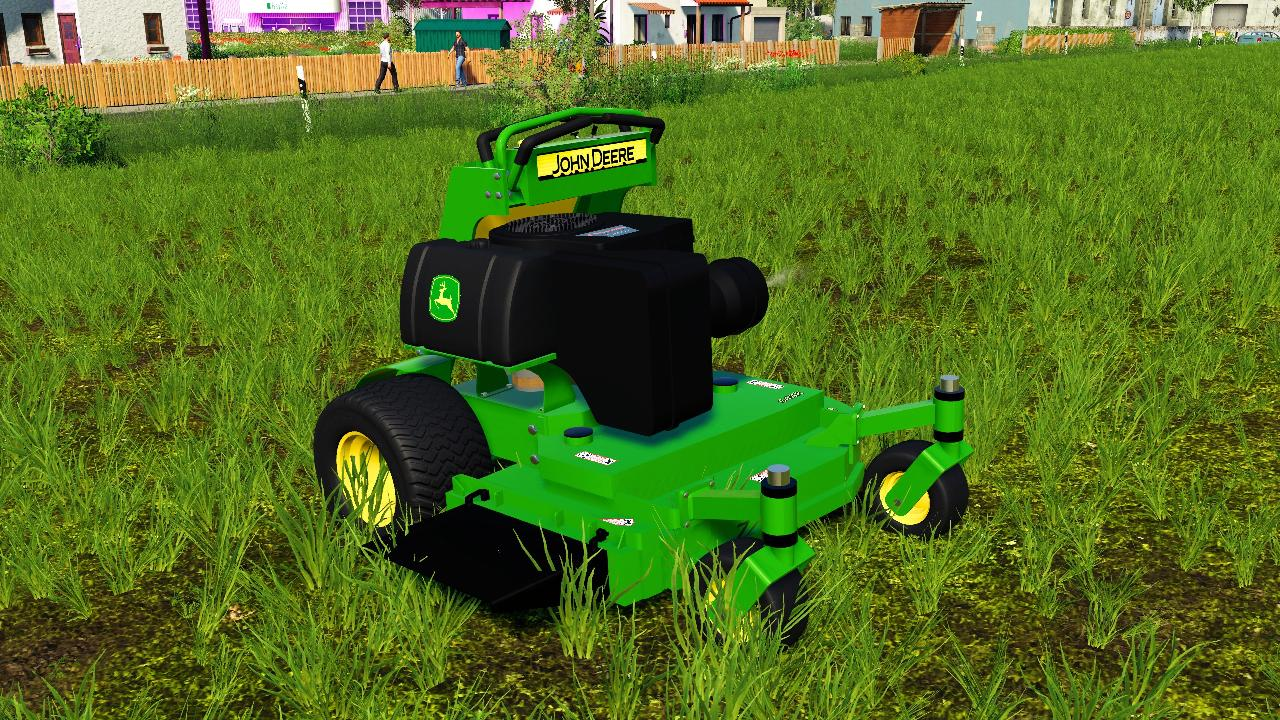 John Deere StandON Mower