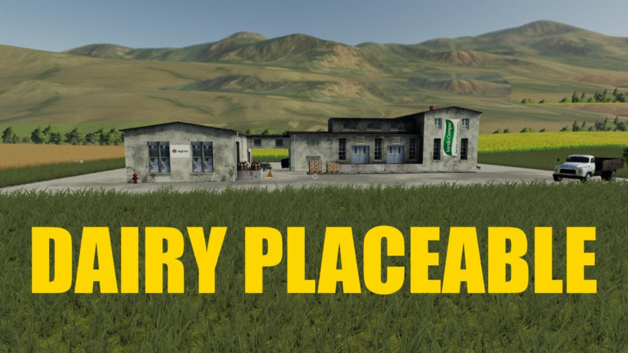Placeable dairy