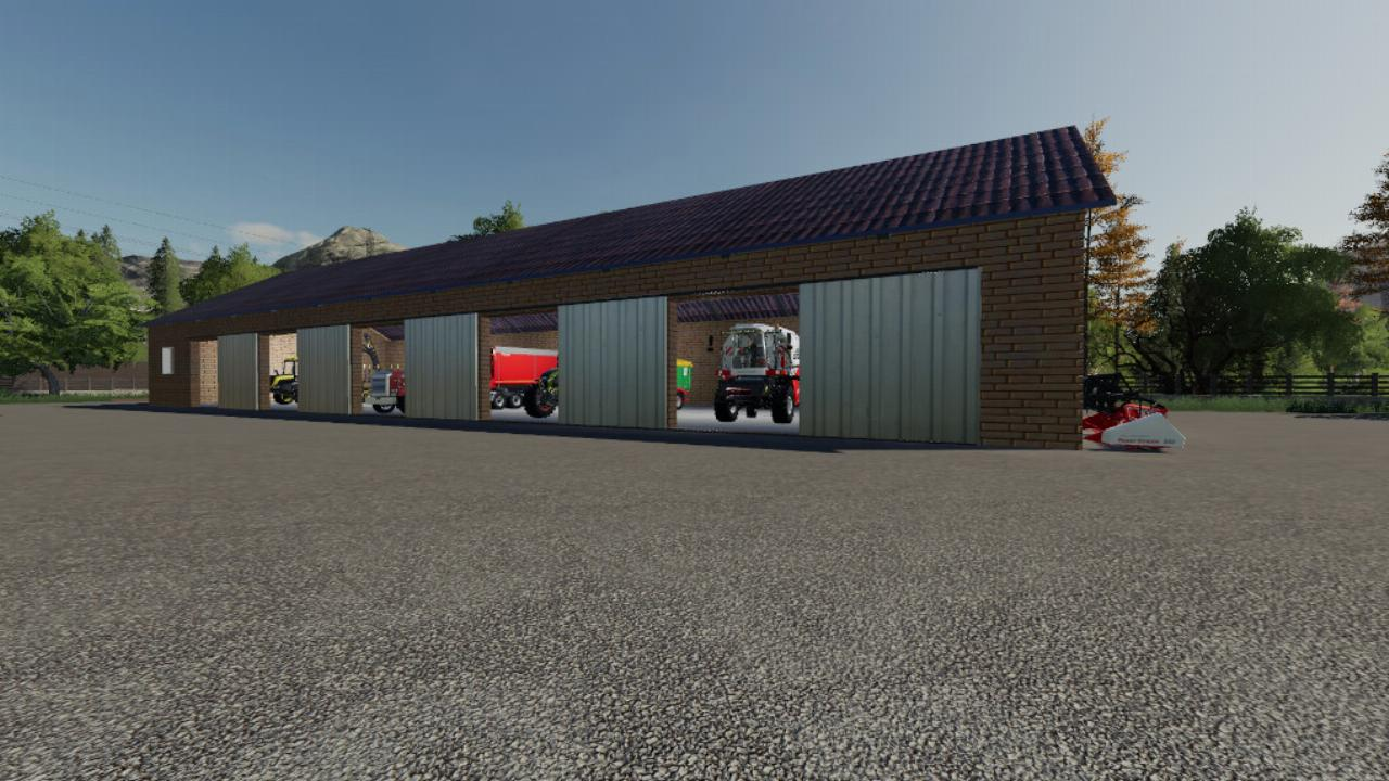 LS19 – Large Machines Shed
