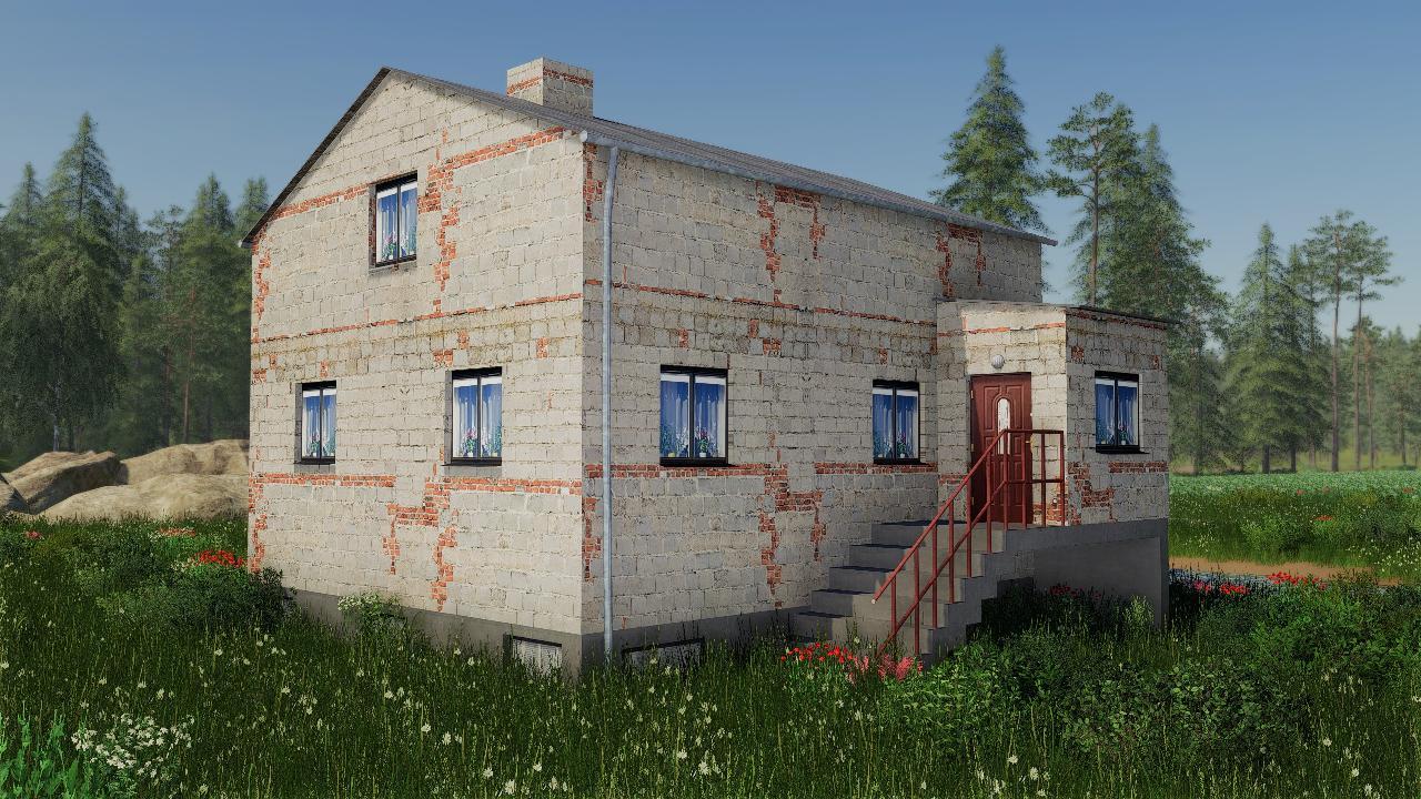 Kleines polnisches Haus