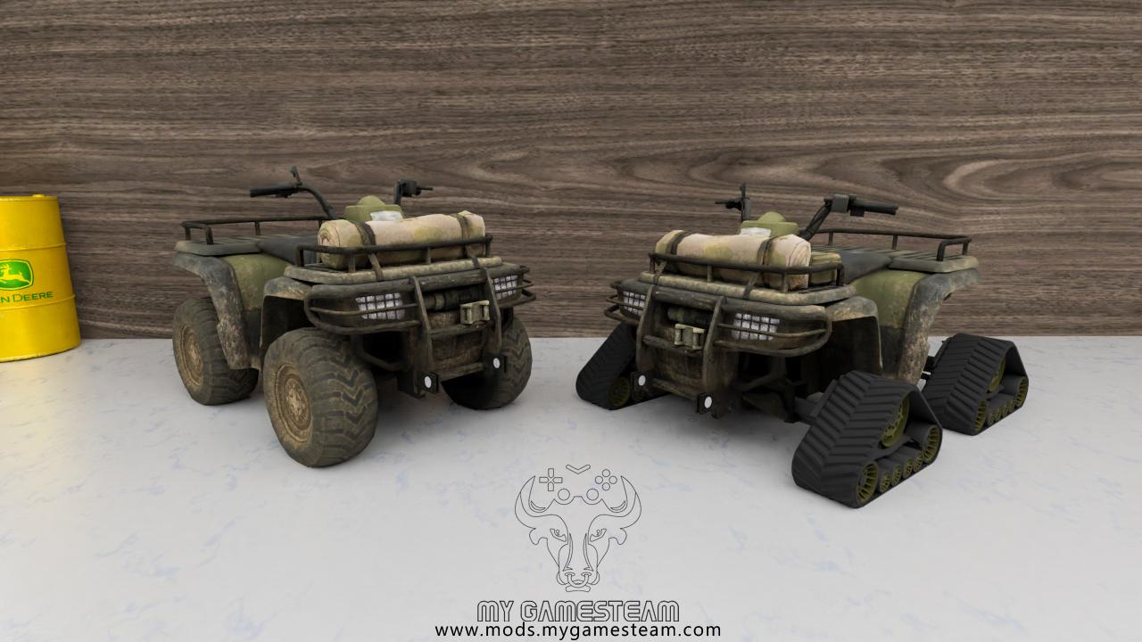 Lizard Quad Bike