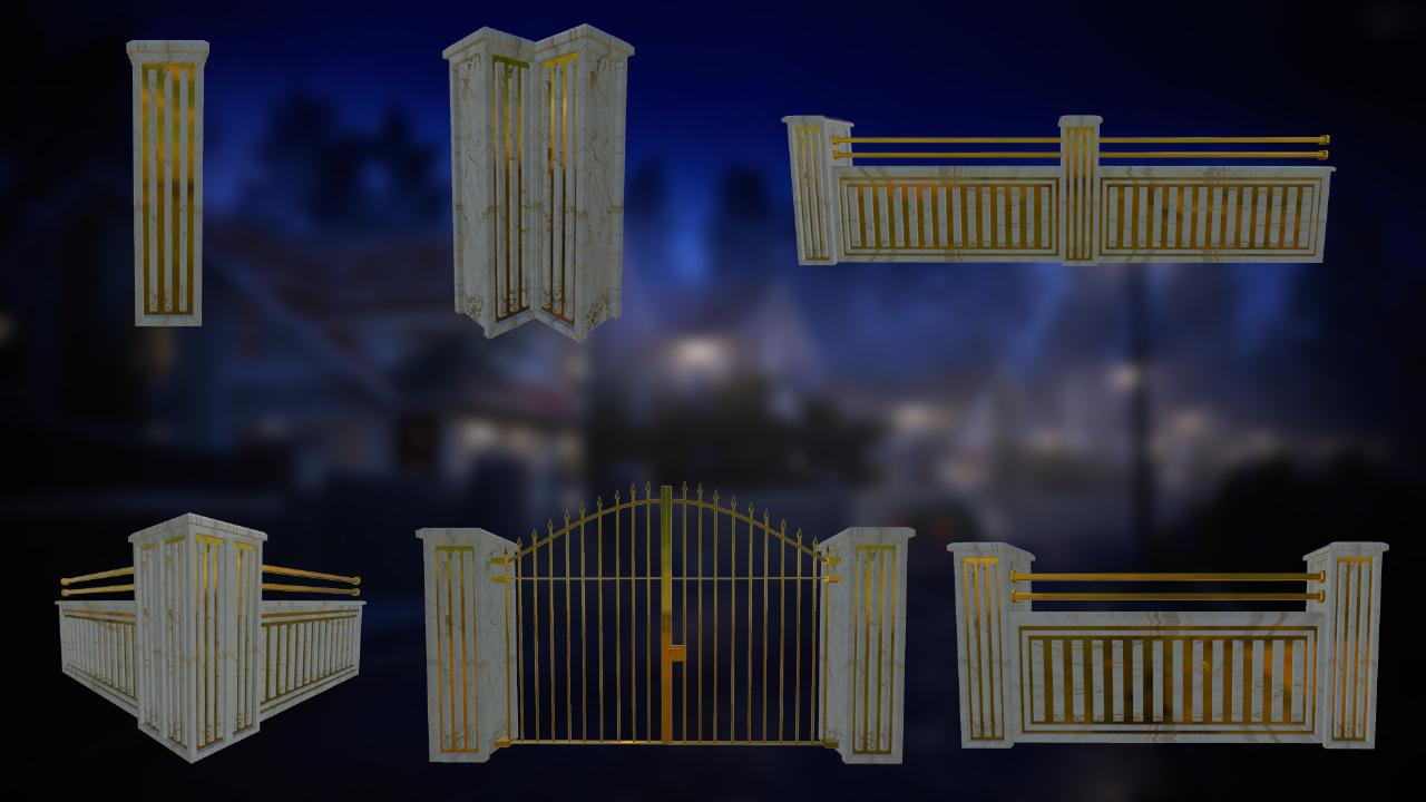 Luxury Fences Pack