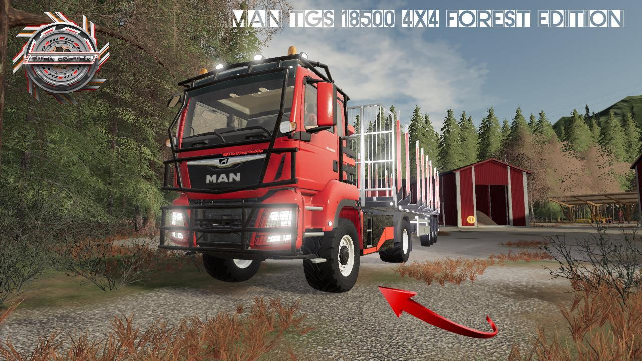 MAN TGS 18500 4x4 Forest Edition