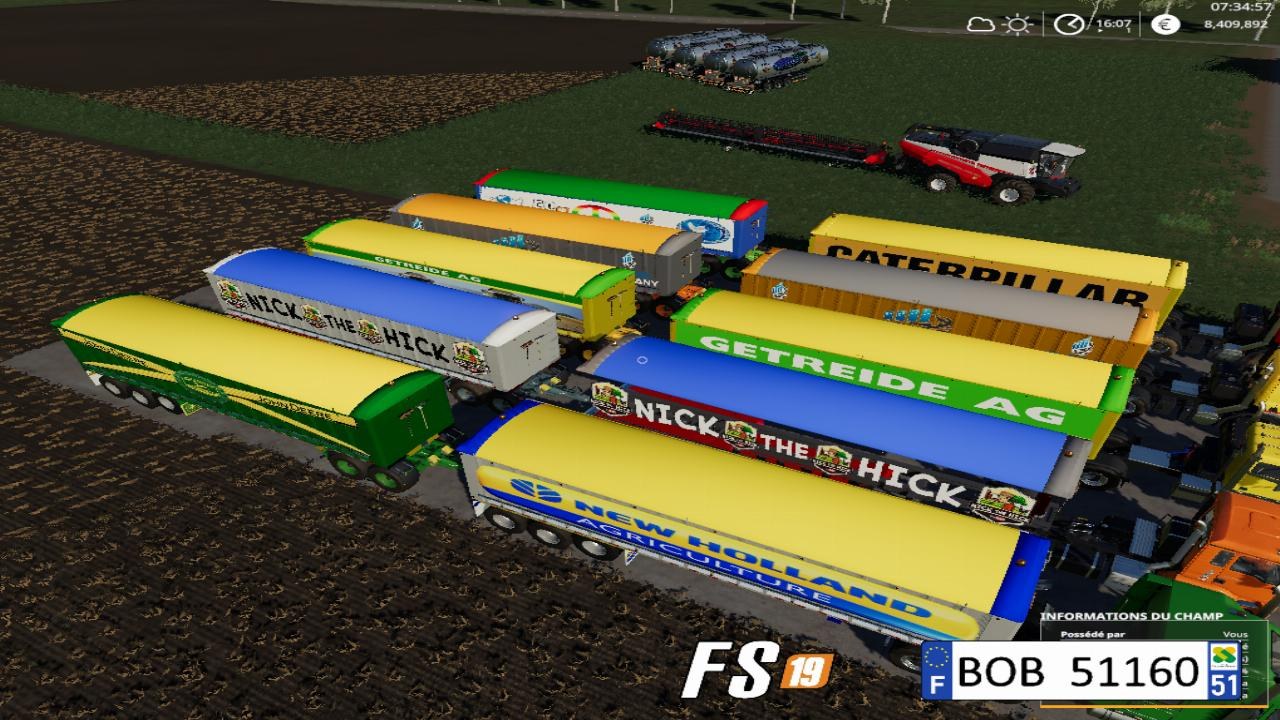 Multi-brand trailer pack