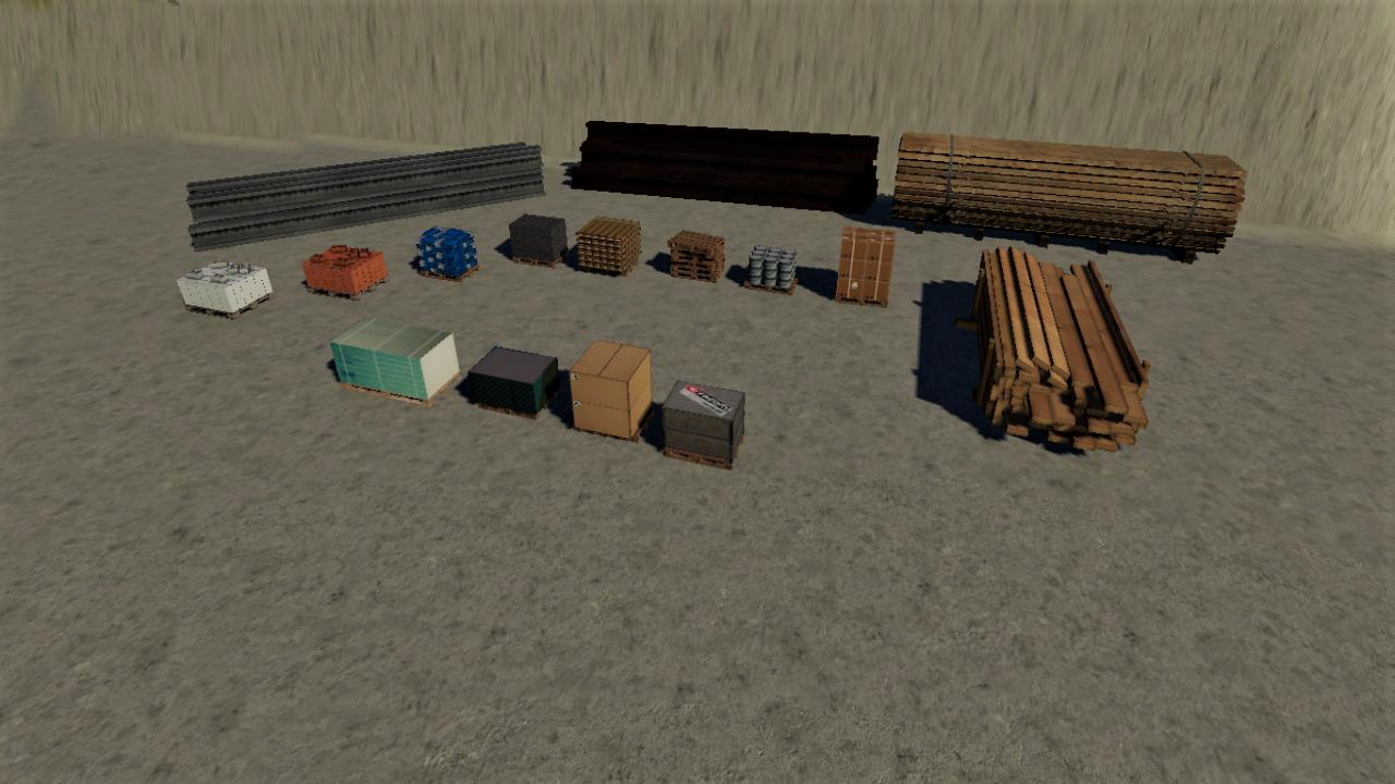 Multi Pallets Pack