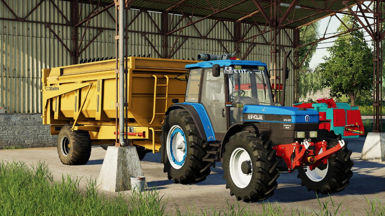 New Holland 7740 & 8340 FS19