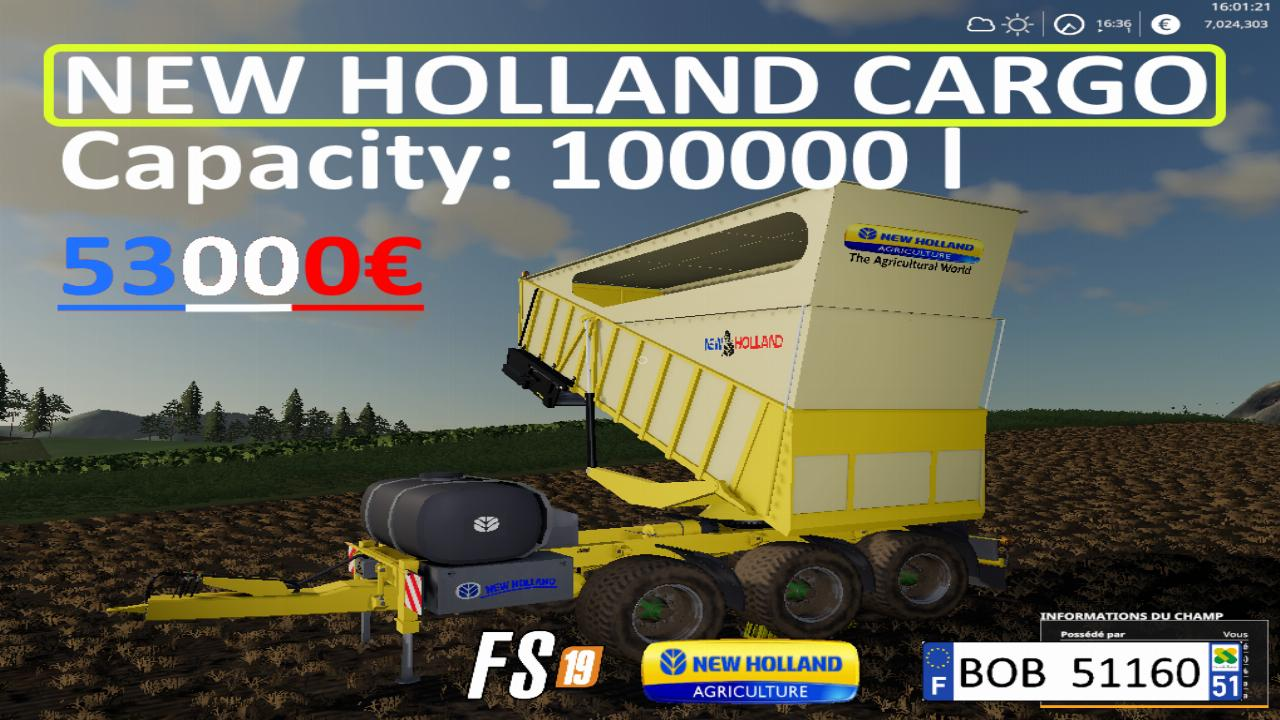 New holland cargo