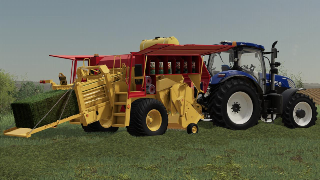 New Holland D1000 Ballenpresse