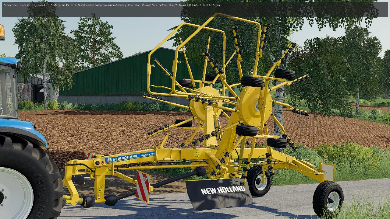 New Holland Prorotor C 820