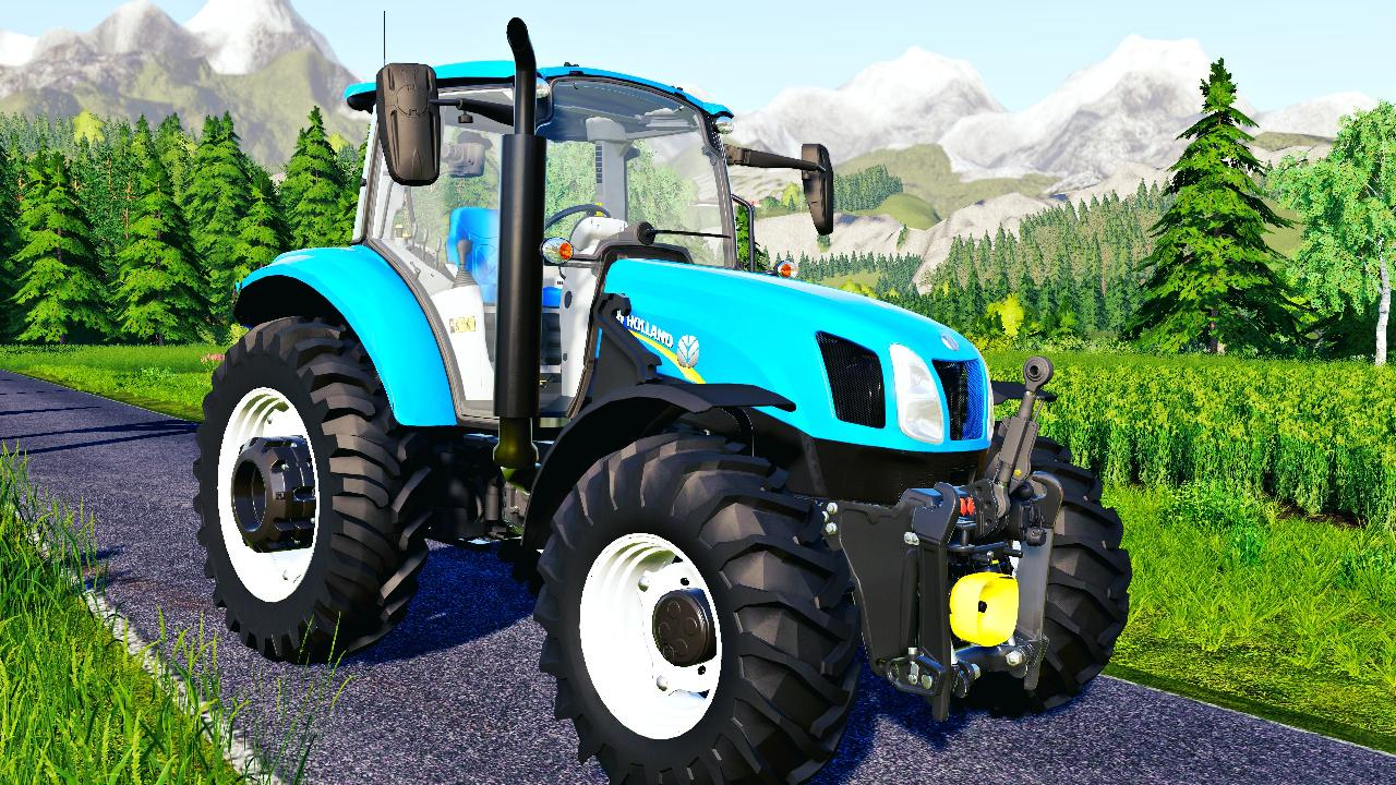 New Holland T6.110 & 130