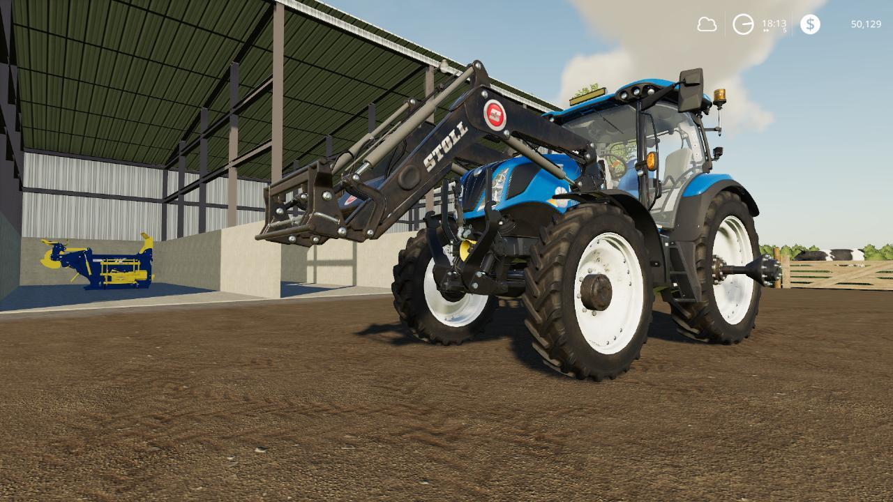New Holland T6 Americain