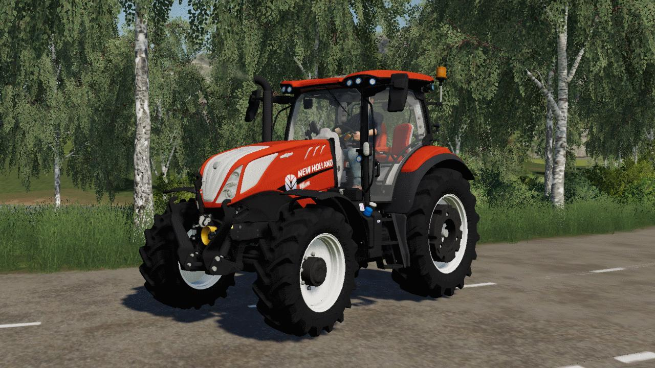 New Holland T6 séries Fiatagri FS19