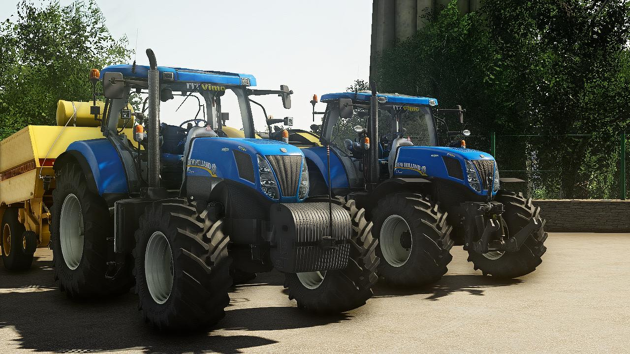 New Holland T7/T7000