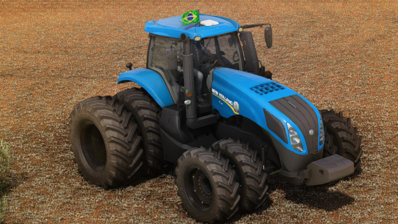 New Holland T8 Series South America