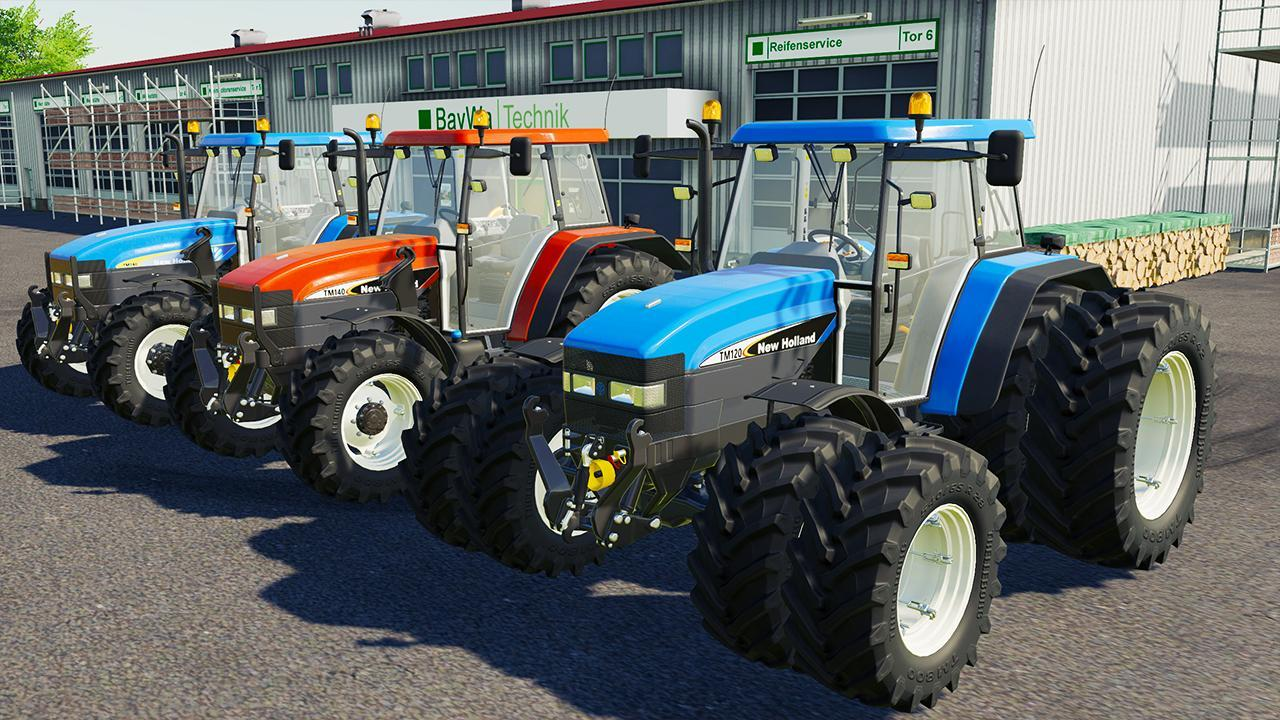 New Holland TM Series